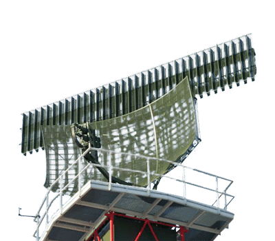 Monopulse secondary surveillance radar
