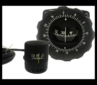 Pilot liquid compass